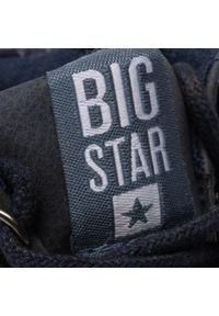 Niebieskie półbuty Big-Star z cholewką
