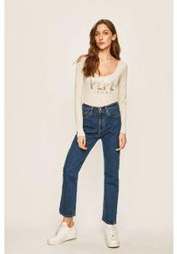 Proste jeansy Levi's® na spotkanie biznesowe, z aplikacjami, biznesowe
