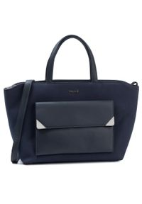 Niebieska torebka klasyczna Wittchen klasyczna