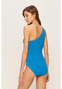 Niebieski strój kąpielowy Michael Kors z fiszbinami