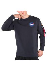 Alpha Industries - ALPHA INDUSTRIES SPACE SHUTTLE HOODIE > 17830707. Materiał: poliester, bawełna. Długość rękawa: długi rękaw. Długość: długie. Wzór: nadruk, aplikacja. Styl: klasyczny