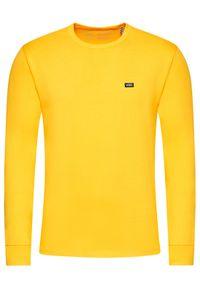 Vans Longsleeve Off The Wall VN0A4TUR Żółty Classic Fit. Kolor: żółty. Długość rękawa: długi rękaw