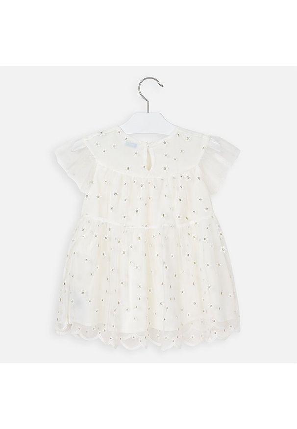 Biała sukienka Mayoral