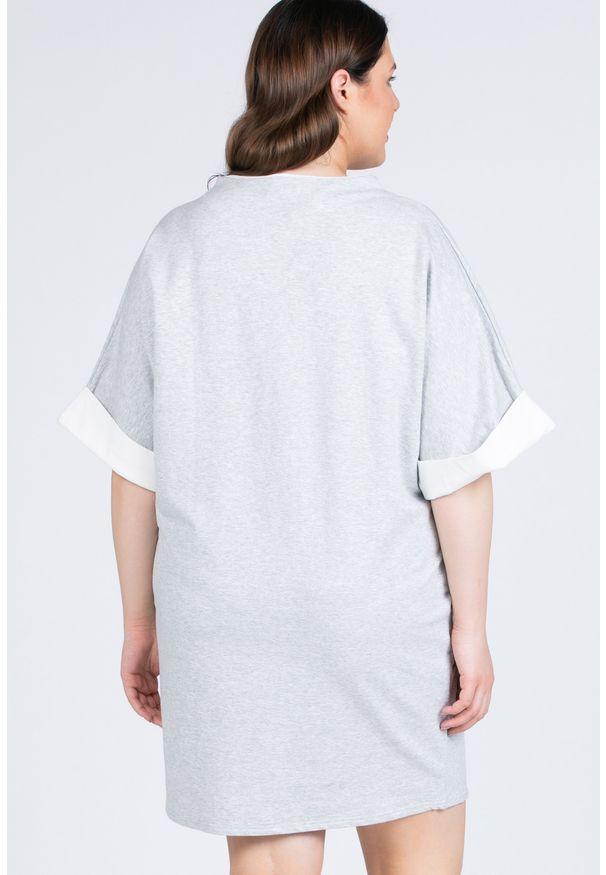 Szara sukienka Monnari sportowa, sportowa, na co dzień