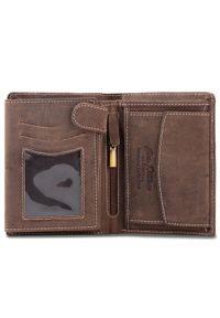 Brązowy portfel Peterson