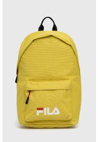 Fila - Plecak. Kolor: żółty