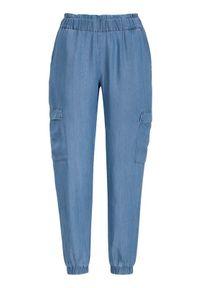 Soyaconcept Spodnie z lyocellu Liv denim blue female niebieski M (40). Okazja: na co dzień. Kolor: niebieski. Materiał: denim. Styl: casual
