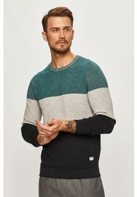 Sweter PRODUKT by Jack & Jones casualowy, na co dzień, z okrągłym kołnierzem