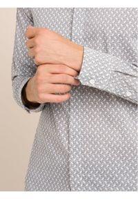 Emporio Armani Koszula 6G1CP1 1NIRZ F141 Szary Slim Fit. Kolor: szary
