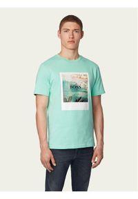 Zielony t-shirt BOSS