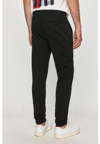 Czarne spodnie dresowe Trussardi Jeans z aplikacjami #4