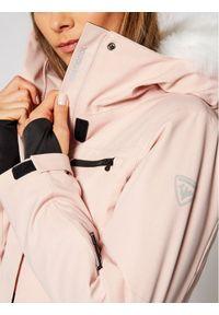 Różowa kurtka zimowa Rossignol
