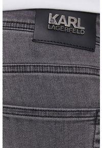 Karl Lagerfeld - Jeansy. Kolor: szary