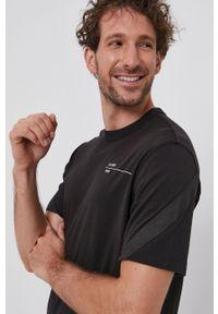 G-Star RAW - G-Star Raw - T-shirt bawełniany. Okazja: na co dzień. Kolor: czarny. Materiał: bawełna. Styl: casual