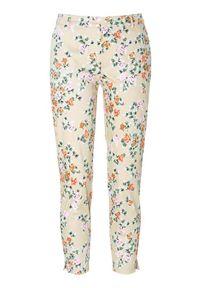 Spodnie PULZ w kwiaty
