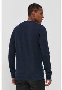 Tom Tailor - Bluza. Okazja: na co dzień. Kolor: niebieski. Materiał: bawełna, dzianina. Wzór: gładki. Styl: casual