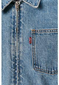 Niebieska kurtka Levi's® na spotkanie biznesowe, casualowa, bez kaptura