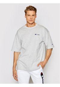 Champion T-Shirt Small Script Logo Muscle 214282 Szary Custom Fit. Kolor: szary