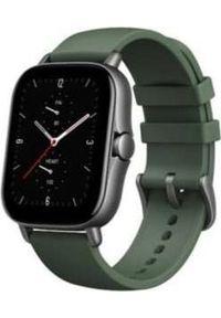 AMAZFIT - Smartwatch Amazfit GTS 2E Zielony (W2021OV2N). Rodzaj zegarka: smartwatch. Kolor: zielony