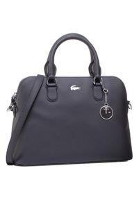 Czarna torebka klasyczna Lacoste klasyczna
