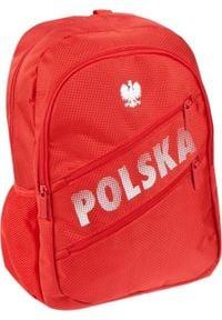 Starpak Plecak szkolny Polska czerwony. Kolor: czerwony