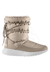 Buty sportowe Adidas wąskie, na zimę, z okrągłym noskiem, z cholewką