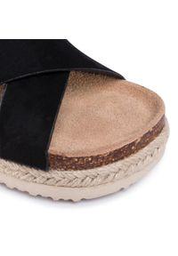 Czarne sandały Big-Star na lato