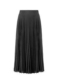 LA MANIA - Plisowana spódnica Lang w kolorze czarnym. Kolor: czarny. Materiał: materiał. Sezon: jesień. Styl: klasyczny #6