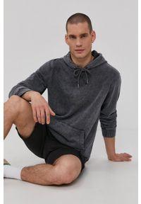 Only & Sons - Bluza bawełniana. Okazja: na co dzień. Typ kołnierza: kaptur. Kolor: szary. Materiał: bawełna. Wzór: gładki. Styl: casual