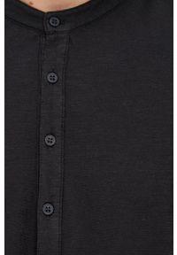 United Colors of Benetton - Longsleeve bawełniany. Okazja: na co dzień. Kolor: czarny. Materiał: bawełna. Długość rękawa: długi rękaw. Styl: casual