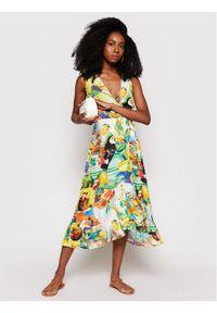 Desigual Sukienka letnia Ibiza 21SWMW05 Kolorowy Regular Fit. Wzór: kolorowy. Sezon: lato
