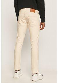 Czerwone jeansy Levi's® casualowe, na co dzień, w kolorowe wzory