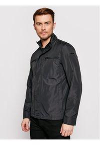 Czarna kurtka przejściowa Geox