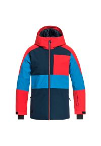 Kurtka Quiksilver Sycamore Jr EQBTJ03075. Materiał: materiał. Sezon: zima. Sport: snowboard