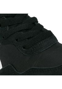 Czarne buty sportowe Onitsuka Tiger z cholewką, na co dzień