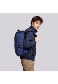 """Wittchen - Męski plecak na laptopa 15,6"""" z boczną kieszenią. Kolor: niebieski. Materiał: poliester. Styl: klasyczny, casual"""