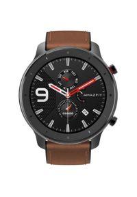 Czarny zegarek Xiaomi smartwatch, klasyczny