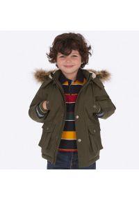 Zielona kurtka zimowa Mayoral