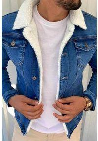 Niebieski płaszcz IVET #1