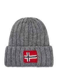 Szara czapka zimowa Napapijri