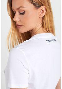 T-shirt Sportmax Code casualowy, w kolorowe wzory #6