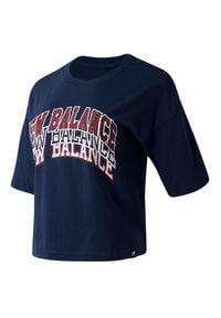 New Balance WT03515NGO. Okazja: na co dzień. Materiał: jersey, dzianina, materiał. Styl: elegancki, klasyczny, casual