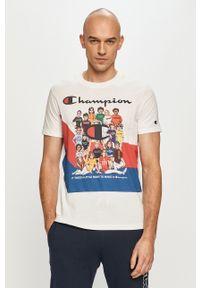 Champion - T-shirt. Kolor: biały