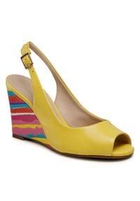 Żółte sandały Loretta Vitale