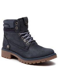 Niebieskie buty trekkingowe Wrangler