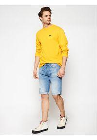 Żółta koszulka z długim rękawem Vans