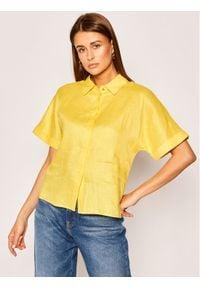 Pennyblack Koszula Elisa 21110320 Żółty Regular Fit. Kolor: żółty
