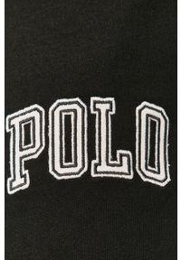 Czarne spodnie dresowe Polo Ralph Lauren gładkie