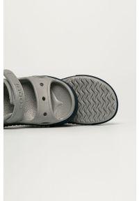 Szare sandały Coqui na rzepy