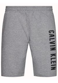 Szare spodenki sportowe Calvin Klein Performance